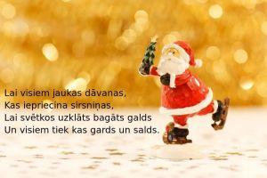 Apsveikuma kartiņa Ziemassvētki